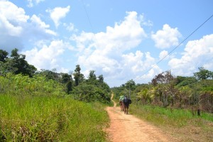 101 0038 Peru - Iquitos - Weg zu Arco Iris
