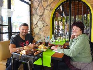 118 0039 Argentina - Mendoza - Motorradausflug nach Uspallata - Rest. El Rancho