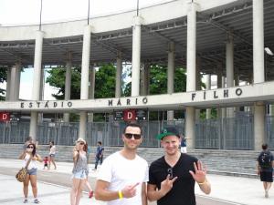 137 0081 Brasil - Rio - Estadio Mario Filho