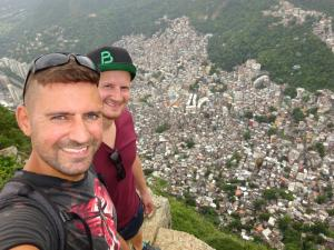 137 0271 Brasil - Rio - Dois Irmaos - Rocinha