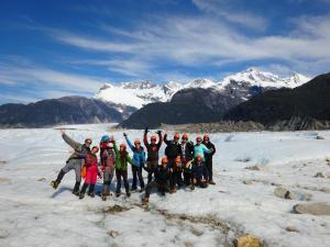 147 0139 Chile - Puerto Rio Tranquilo - Glaciar Exploradores
