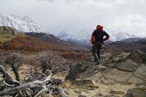 151 0068 Argentina - El Chalten - Wanderung Fitz Roy