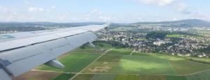 158 016 Flug in die Schweiz