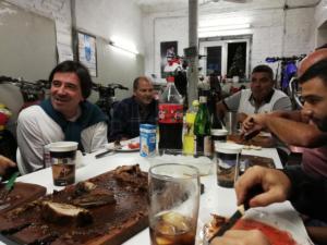 160 0013 Argentina - San Juan -  Mech. Rossetti - Asado